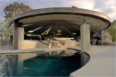 The 1968 Elrod House in Palm Springs, Calif., one of the architect John Lautner's most famous private homes.