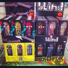 Plastic Techdeck Fingerboards. RM29.