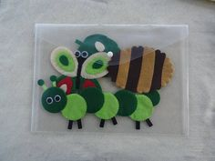 Hand Sewn Hungry Caterpillar Felt Story Set for Kids