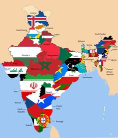 India states compared to countries of similar GDP - Vivid Maps India World Map, India Map, Ancient Indian History, History Of India, Indian Police Service, Geography Map, Ap Human Geography, Kargil War, India Quotes
