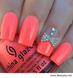 Some Cute Nails Design Ideas for ladies - BeaLady.net