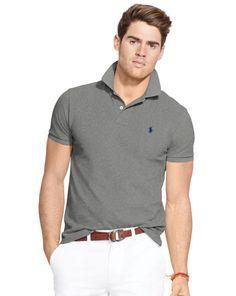 Classic-Fit Mesh Polo Shirt - Polo Ralph Lauren Classic-Fit  - RalphLauren.com