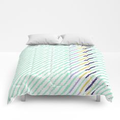 Get cozy with comforters! Getting Cozy, Playground, Comforters, Sweet Home, Blanket, Bed, Green, Furniture, Home Decor