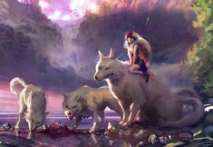 Mononoke by Miles-Johnston.deviantart.com on @DeviantArt