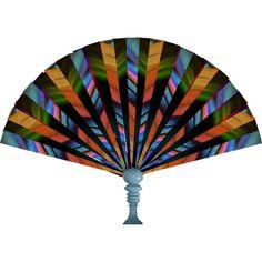 """""""Art Deco Fan"""" by dragunceol on Polyvore"""
