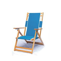 Heavy Duty Commercial Grade Oak Wood Beach Chair >>> Visit the image link more details. (This is an affiliate link)