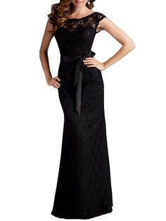 Backless Round Neck Hollow Out Party-dress