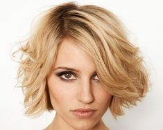 blondehair 26 Sweet Short Hairstyles For Thick Wavy Hair