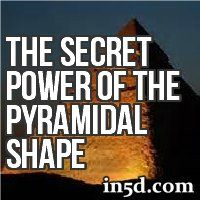 The very shape of the pyramid is an amplified-receiver or resonator of various kinds of energy fields, i.e. electro-magnetic waves, cosmic rays, electrical discharges, gravitational waves, etc., surrounding our planet and which are in the air around and within the pyramid.