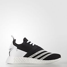 31a4f65ef57b adidas Originals Men White Mountaineering NMD R2 Primeknit Shoes Core  Black Footwear White (CG3648)