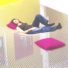 Home decor ideas full floor hammock