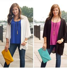 Our Fall in Line Cardigans are a hit!!! They are perfect for this weather leading us into fall! Toss it on over any tank and you're on your way! Southernswankboutique.com #instastyle #instafashion #fallfashion #basics #wiw #ootd #onthego