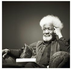 Wole Soyinka (January 13, 1934) Nigerian poet, writer and stagewriter and winner of the Nobel Prize of Literature in 1986.