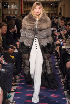 """That coat!"" Sonia Rykiel Fall 2015 RTW Collection - Style.com. Long live fashion: LÜR Nail presents the best designer runway looks of the Paris Autumn/Winter 2015 Collections."