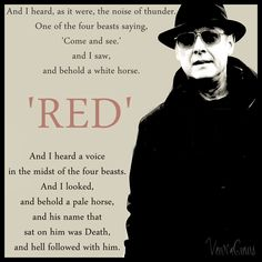 The Blacklist - Raymond 'Red' Reddington by VerucaCrews.deviantart.com on @deviantART