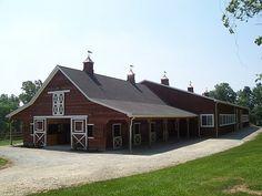 pictures of indoor horse arenas | ... indoor riding arena and t barn wood barn and indoor riding arena