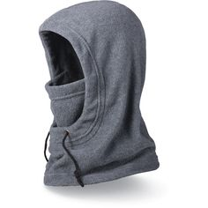 The DAKINE Hunter balaclava mirrors a jacket hood. It can be worn over goggles or a beanie, and the double-layer midweight fleece makes it warmer and bulkier than the Convertible Balaclava. Available at REI, Satisfaction Guaranteed. D Gray Man Anime, Mouth Mask Fashion, Cold Weather Gear, Balaclava, Mask Design, Knitwear, Street Wear, Sewing, Casual