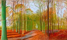 Looking forward to the David Hockney exhibition at the RA ... and want to go to Saltaire to see his gallery ...