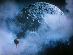 Baron Munchausen - flying to the moon
