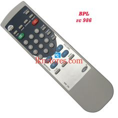 Buy remote suitable for BPL Tv Model: RC 986 at lowest price at LKNstores.com. Online's Prestigious buyers store.