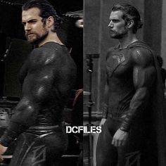 Post from The @dcfiles  Potentially what Superman could look like in his black suit for Justice League! (fan made)