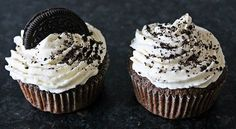 Oreo Cupcakes.. going to try this recipe