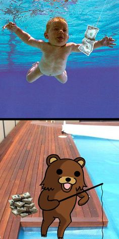 Daily Afternoon Randomness - Find the best random memes, photos and gifs to perk up your day each afternoon! Browse our random funny memes to Keep Calm and Chive On! Funny Cats, Funny Jokes, Hilarious, Pedobear, Nirvana Band, Bear Fishing, Marching Band Memes, Troll Face, Rage Comics