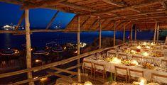 Ristorante sul mare di fronte ai Faraglioni di Capri - La Fontelina
