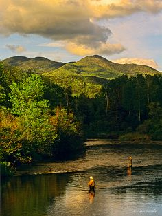 Fly Fishing in the Adirondacks