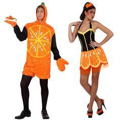 Pareja Disfraces de Naranjas #parejas #disfraces #carnaval