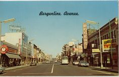 Postcard from West New York's Bergenline Avenue Did a lot of shopping on Saturday's on Bergenline Ave.back in the day