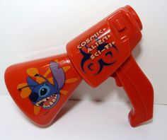 Disney Lilo and Stitch Intergalactic Voice Changer Blaster 3 Voice Mode Cosmic  #Disney