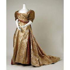 Evening Dress Charles Fredrick Worth, 1889
