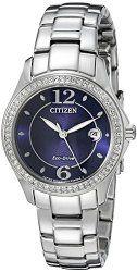 Citizen Women's FE1140-86L Analog Display Japanese Quartz Silver Watch