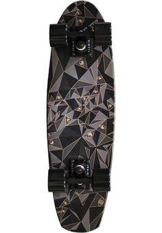 Aluminati Skateboards A-Frame Cruiser-Komplett black-diamond | Titus Onlineshop