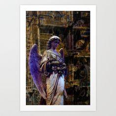 Angel 23 Art Print by Richard J Wise - $17.68