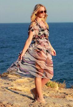 Sheer Beach Cover Up Dress