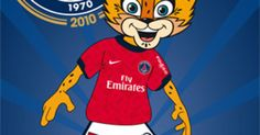#Telefoot : Le PSG présente sa mascotte : Germain ! Ce dernier ainsi qu'un hymne en l'honneur du Paris Saint-Germain seront présentés au tournoi de Paris, qui aura lieu du 31 juillet au 1er août.