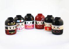 こけし弁当 | Bento&co | 京都発弁当箱専門店