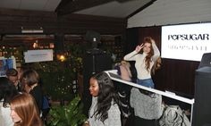 Pin for Later: Nicola Roberts and Daisy Lowe Raise the Roof at the POPSUGAR x ShopStyle Party Nicola Roberts