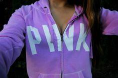 Purple PINK sweater.