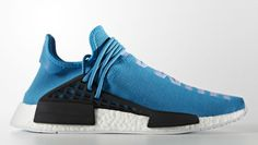 Blue Pharrell adidas NMD Human Race | Sole Collector