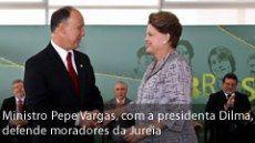 Ministro repudia desocupação da Jureia
