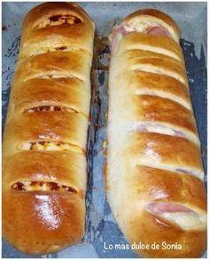 INGREDIENTES: ( para un pan enorme o dos como los de las fotos) 250 grs de leche 50 grs de mantequilla 50 grs de azúc...