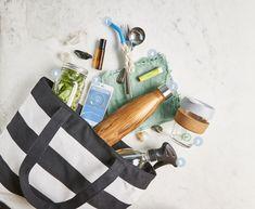The Essentials For Any Zero-Waste Bag - mindbodygreen