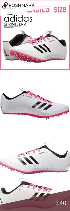 0aa156be4fac0 Women s Adidas Sprintstar W Spikes Running Shoes Come s New W  Out Box