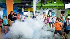Fun at Questacon, a Canberra venue that's a must-see for visiting families. Liquid Nitrogen, Time And Weather, Holidays With Kids, Family Holiday, Holiday Destinations, Science And Technology, Friends Family, Family Travel, Acting