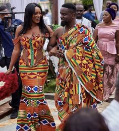 Explore South African wedding traditions, latest Igbo traditional wedding attire, what to wear to a Ghanaian wedding, shweshwe wedding dresses and African Wedding Attire, African Attire, African Wear, African Dress, Modern African Print Dresses, Latest African Fashion Dresses, African Print Fashion, Ghana Mode, Nigerian Dress