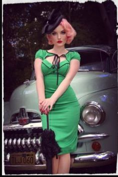 Girl Crazy green wiggle size 6 (photo from KMD collection)