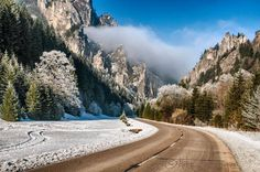 Vrátna dolina or Vrátna Valley is a valley in the Malá Fatra mountain range in… High Tatras, Heart Of Europe, Bratislava, Mountain Range, Capital City, Slovenia, Homeland, Cool Pictures, Country Roads
